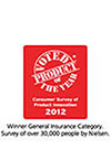my:health Medisure Prime Insurance wins 'Product of the Year 2012' award